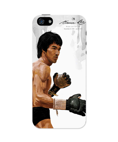 iPhone 5 / 5S Cases & Covers | Bruce Lee Standing iPhone 5 / 5S Case Online India