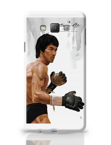 Samsung Galaxy A7 Covers | Bruce Lee Standing Samsung Galaxy A7 Covers Online India