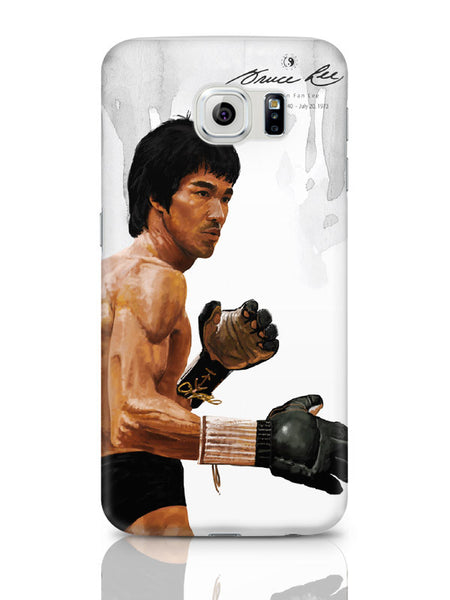 Samsung Galaxy S6 Covers & Cases | Bruce Lee Standing Samsung Galaxy S6 Covers & Cases Online India