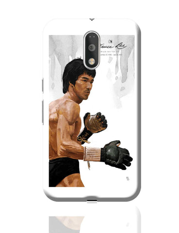 Bruce Lee Standing Moto G4 Plus Online India
