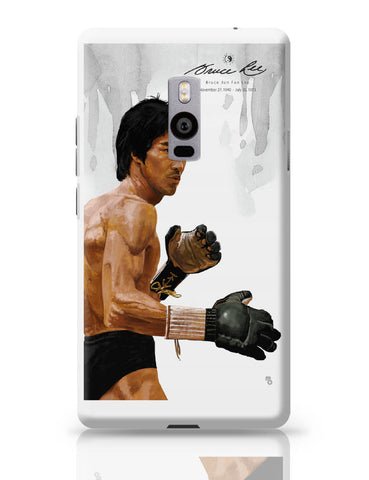 OnePlus Two Covers | Bruce Lee Standing OnePlus Two Cover Online India