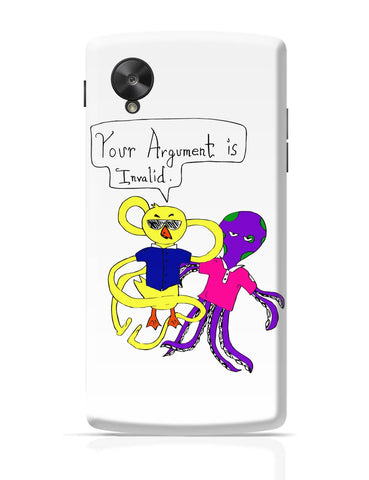 Google Nexus 5 Covers | Your Argument is Invalid Google Nexus 5 Cover Online India