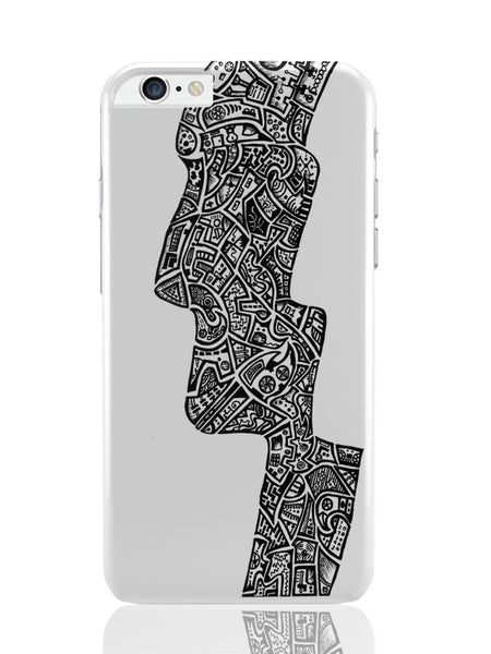 iPhone 6 Plus / 6S Plus Covers & Cases | Face Line Art Sketch iPhone 6 Plus / 6S Plus Covers and Cases Online India