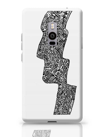 OnePlus Two Covers | Face Line Art Sketch OnePlus Two Cover Online India