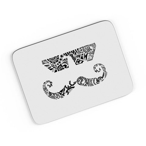 Moustache Line Art A4 Mousepad Online India