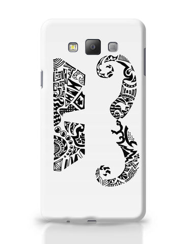 Samsung Galaxy A7 Covers | Moustache Line Art Samsung Galaxy A7 Covers Online India