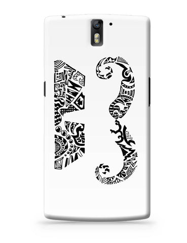 OnePlus One Covers | Moustache Line Art OnePlus One Cover Online India