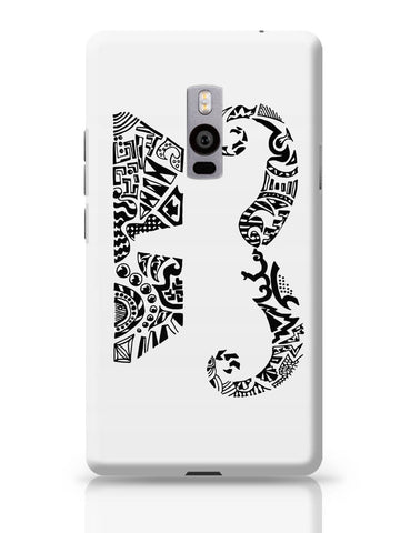 OnePlus Two Covers | Moustache Line Art OnePlus Two Cover Online India