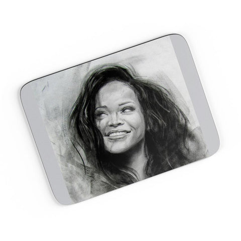 Rihanna Sketch  A4 Mousepad Online India