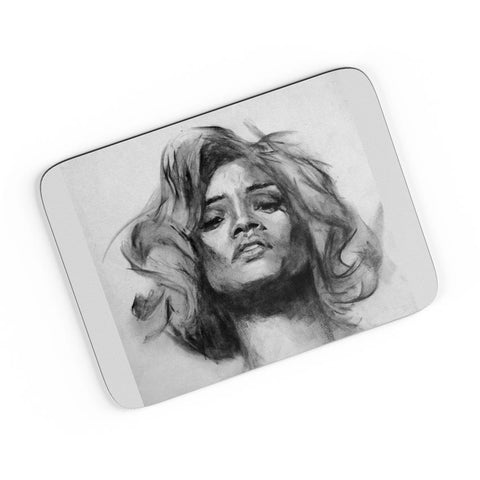 Rihanna Illusionary Dream Sketch  A4 Mousepad Online India
