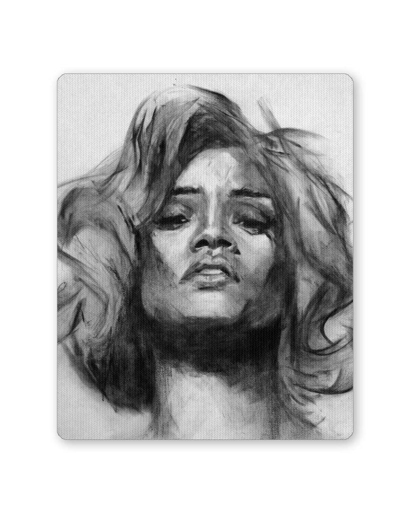 Music buy mouse pads online india rihanna illusionary dream sketch mouse pad online india posterguy in