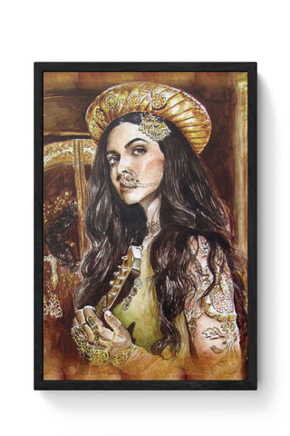 Framed Posters Online India | Deewani Mastani Laminated Framed Poster Online India