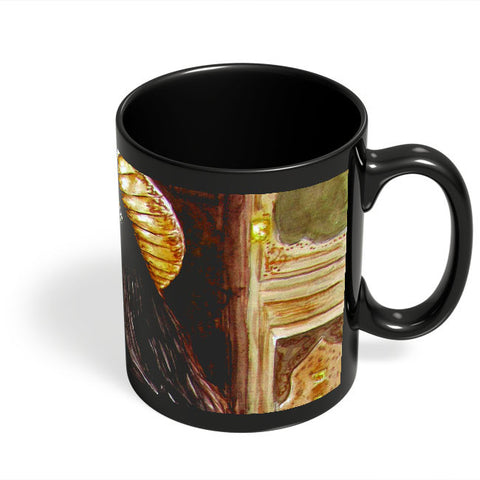 Coffee Mugs Online | Deewani Mastani Black Coffee Mug Online India