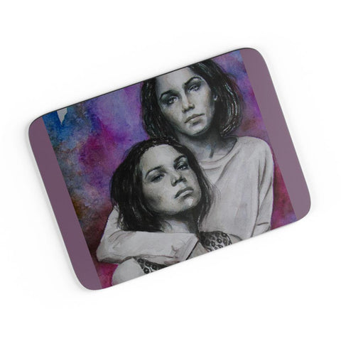 Twin Sisters (Gayle And Deveney Dweltz) A4 Mousepad Online India