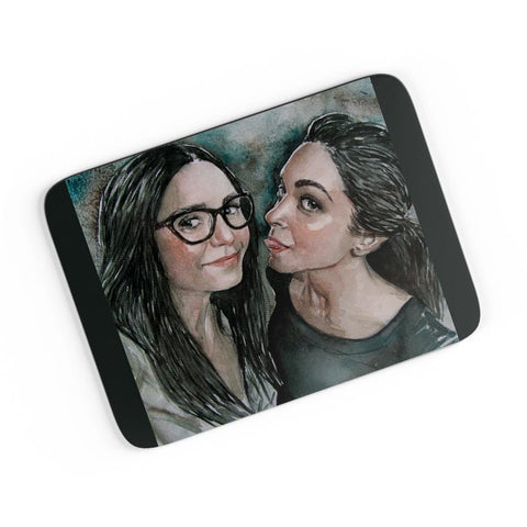 Nina Doberov With Deepika Padukone A4 Mousepad Online India