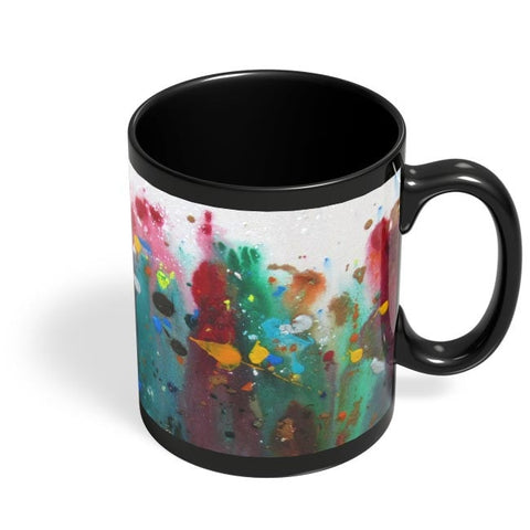 Abstract Black Coffee Mug Online India