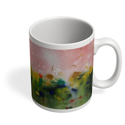 Floral Abstract Coffee Mug Online India