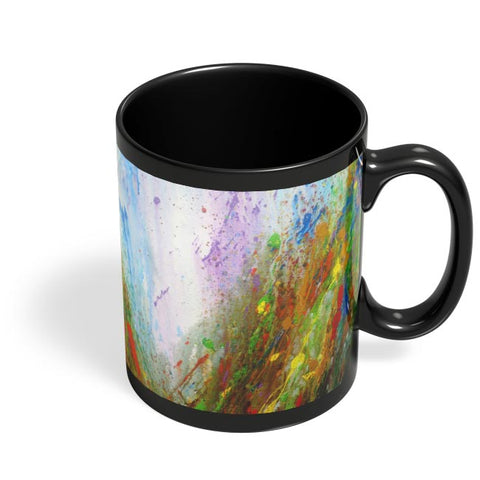 Transparent Lover of Nature Black Coffee Mug Online India