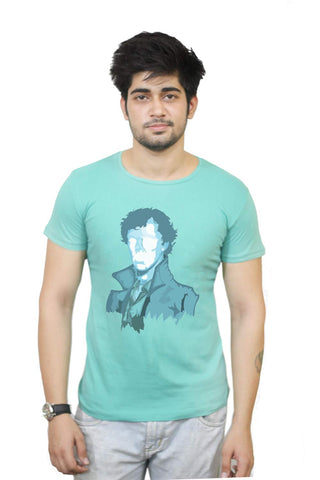 Buy Funny T-Shirts Online India | Sherlock Holmes T-Shirt Funky, Cool, T-Shirts | PosterGuy.in