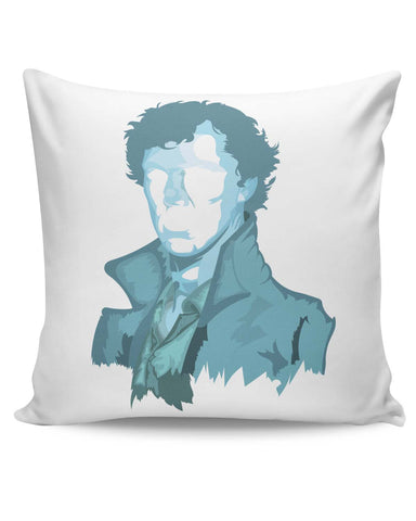 PosterGuy | Sherlock Holmes | Benedict Cumberbatch Vector Illustration Cushion Cover Online India