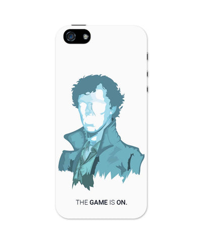 iPhone 5 / 5S Cases & Covers | Sherlock Holmes | Benedict Cumberbatch Vector Illustration iPhone 5 / 5S Case Online India