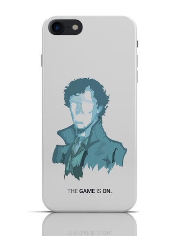 Sherlock Holmes | Benedict Cumberbatch Vector Illustration iPhone 7 Covers Cases Online India