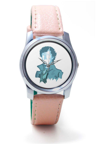 Women Wrist Watch India | Sherlock Holmes | Benedict Cumberbatch Vector Illustration Wrist Watch Online India