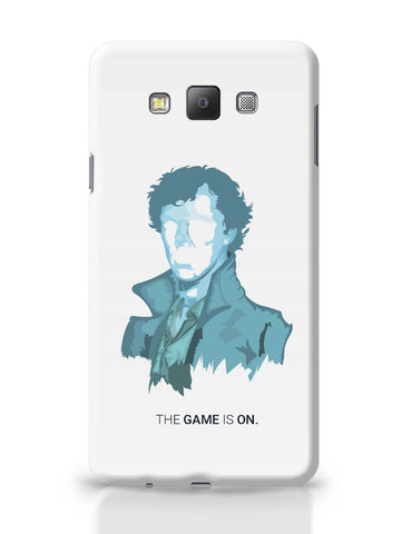 Samsung Galaxy A7 Covers | Sherlock Holmes | Benedict Cumberbatch Vector Illustration Samsung Galaxy A7 Covers Online India