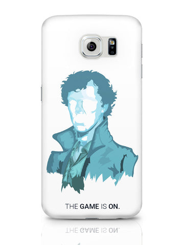 Samsung Galaxy S6 Covers & Cases | Sherlock Holmes | Benedict Cumberbatch Vector Illustration Samsung Galaxy S6 Covers & Cases Online India