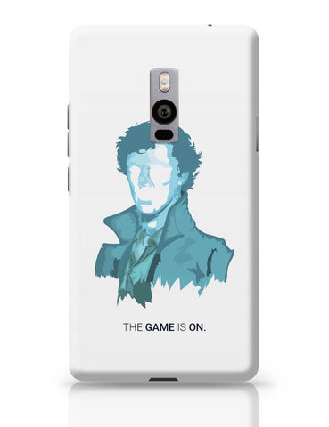 OnePlus Two Covers | Sherlock Holmes | Benedict Cumberbatch Vector Illustration OnePlus Two Cover Online India