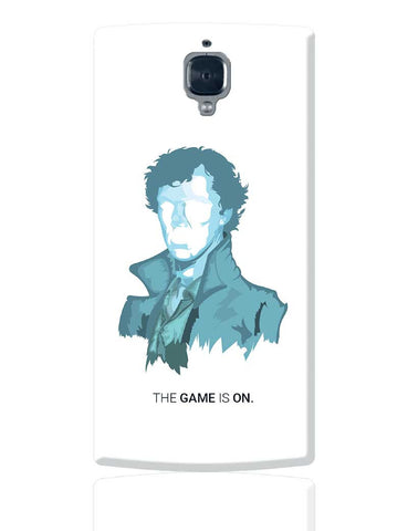 Sherlock Holmes | Benedict Cumberbatch Vector Illustration OnePlus 3 Cover Online India