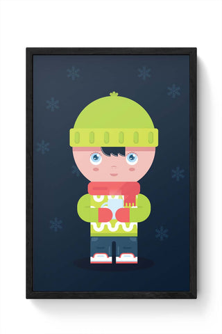 Framed Posters Online India | Winter Times Laminated Framed Poster Online India