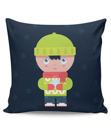 PosterGuy | Winter Times Cushion Cover Online India