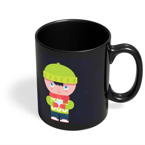 Coffee Mugs Online | Winter Times Black Coffee Mug Online India