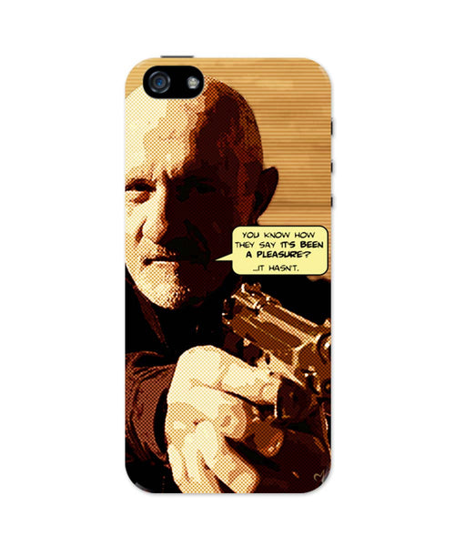 iPhone 5 / 5S Cases & Covers | Mike Braking Bad Inspired Fan Art Quote iPhone 5 / 5S Case Online India