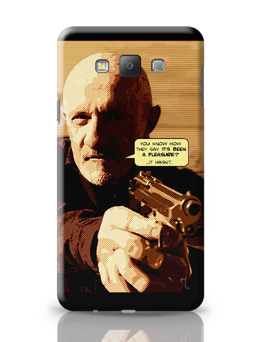 Samsung Galaxy A7 Covers | Mike Braking Bad Inspired Fan Art Quote Samsung Galaxy A7 Covers Online India