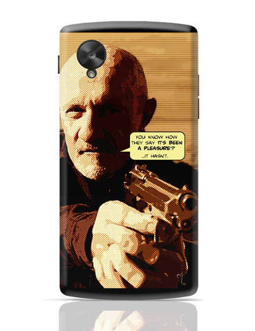 Google Nexus 5 Covers | Mike Braking Bad Inspired Fan Art Quote Google Nexus 5 Cover Online India