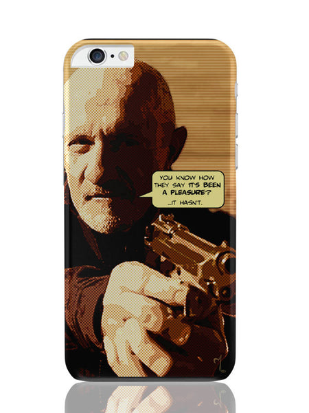 iPhone 6 Plus / 6S Plus Covers & Cases | Mike Braking Bad Inspired Fan Art Quote iPhone 6 Plus / 6S Plus Covers and Cases Online India