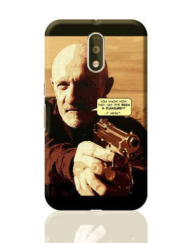 Mike Braking Bad Inspired Fan Art Quote Moto G4 Plus Online India