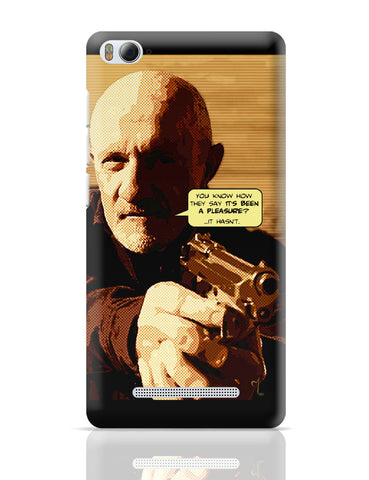 Xiaomi Mi 4i Covers | Mike Braking Bad Inspired Fan Art Quote Xiaomi Mi 4i Cover Online India
