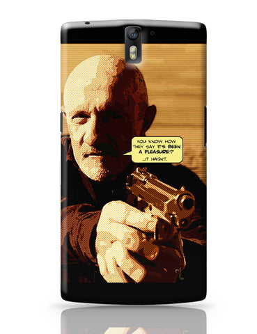 OnePlus One Covers | Mike Braking Bad Inspired Fan Art Quote OnePlus One Cover Online India