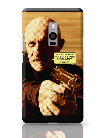 OnePlus Two Covers | Mike Braking Bad Inspired Fan Art Quote OnePlus Two Cover Online India