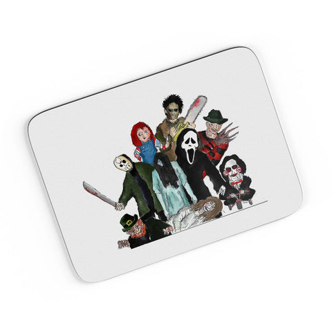 Pop Art Illustration Characters A4 Mousepad Online India