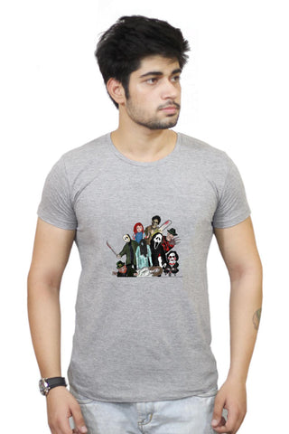 Buy Pop Art Illustration Characters T-Shirts Online India | Pop Art Illustration Characters T-Shirt | PosterGuy.in
