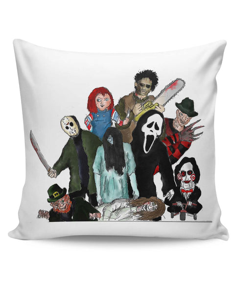 PosterGuy | Pop Art Illustration Characters Cushion Cover Online India