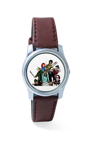 Women Wrist Watch India | Pop Art Illustration Characters Wrist Watch Online India