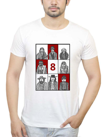 Buy Hateful 8 Poster T-Shirts Online India | Hateful 8 Poster T-Shirt | PosterGuy.in
