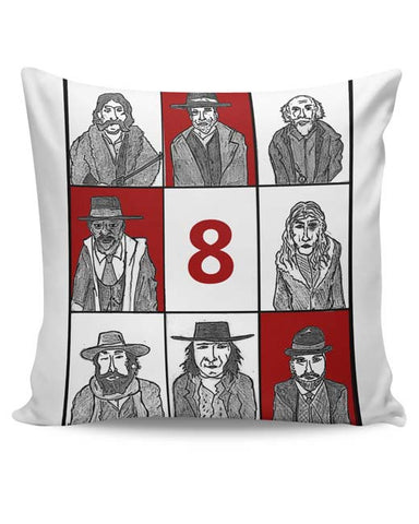 PosterGuy | Hateful 8 Poster Cushion Cover Online India