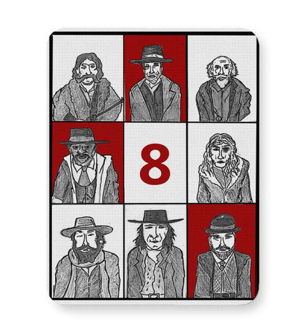 Buy Mousepads Online India | Hateful 8 Poster Mouse Pad Online India