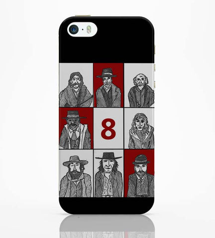 iPhone 5 / 5S Cases & Covers | Hateful 8 Poster iPhone 5 / 5S Case Online India